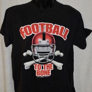Football To The Bone Tee